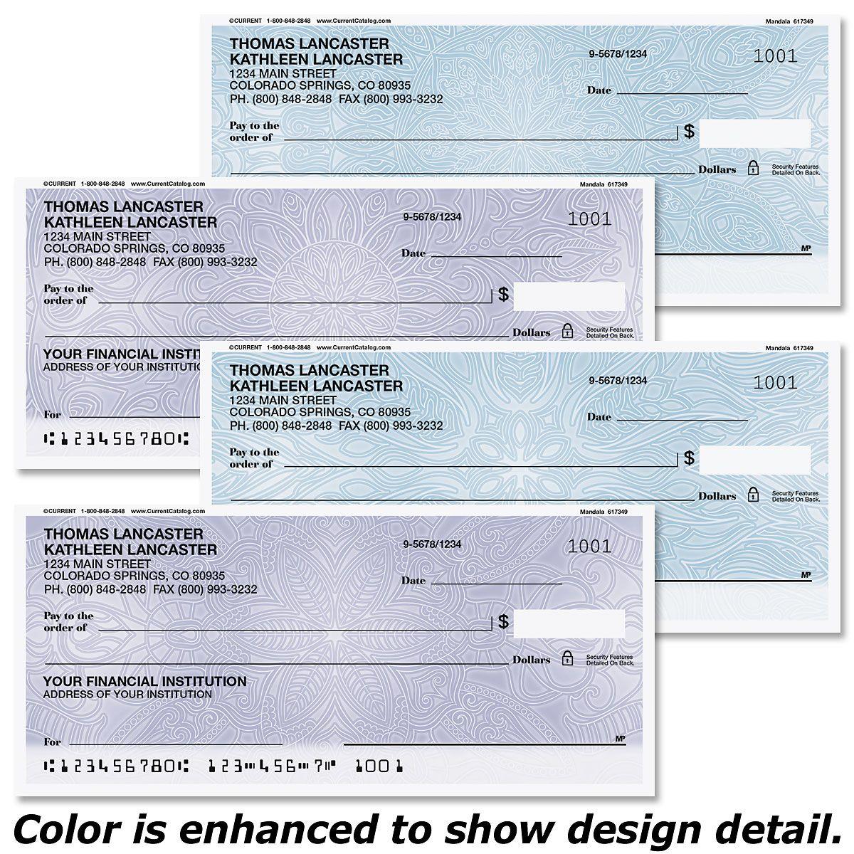 Mandala Personal Checks