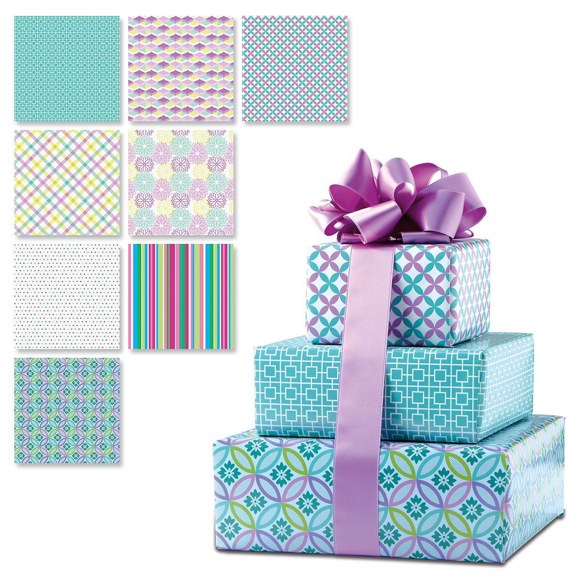 Everyday Peek-Proof Flat Gift Wrap Sheets