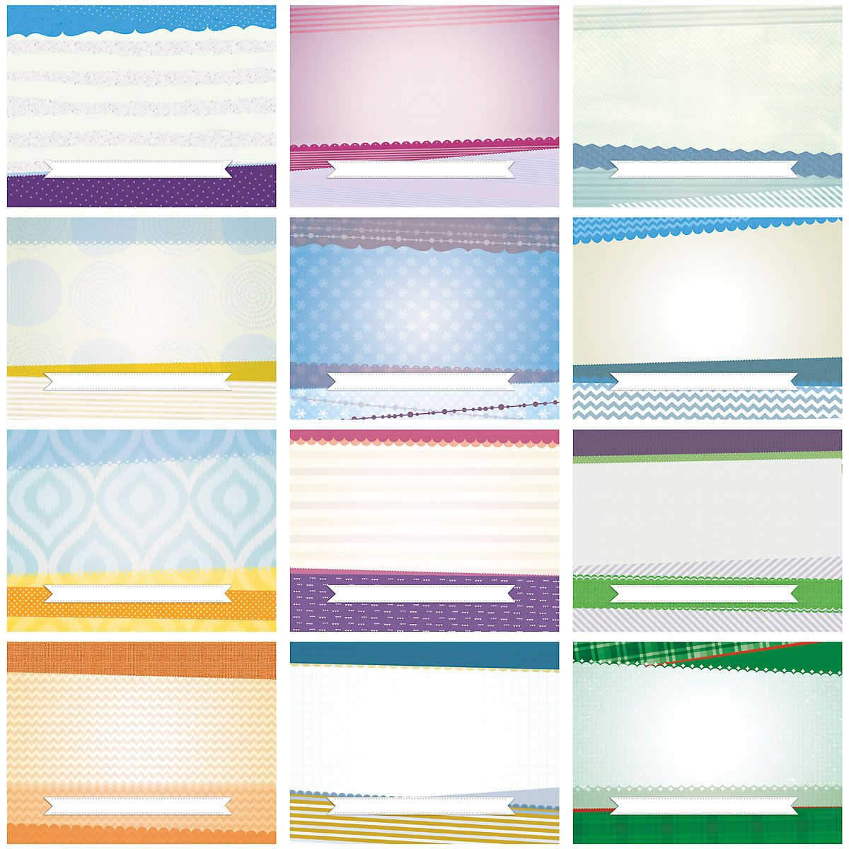 2019 Textures Photo Scrapbook Wall Calendar