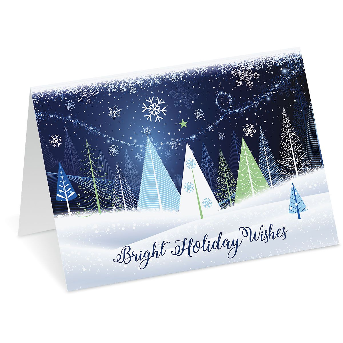 Holiday Trees Christmas Cards