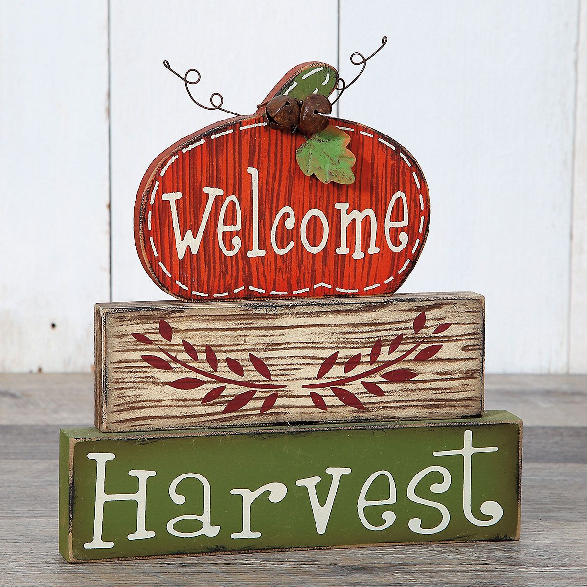Welcome Harvest Sign