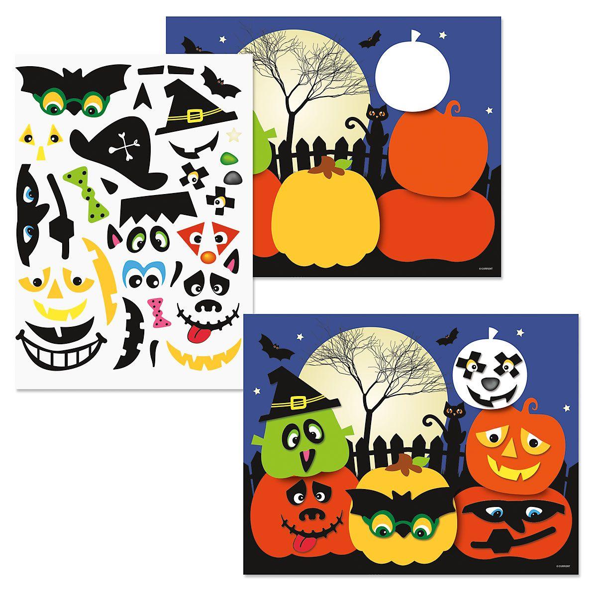 Halloween Sticker Scenes