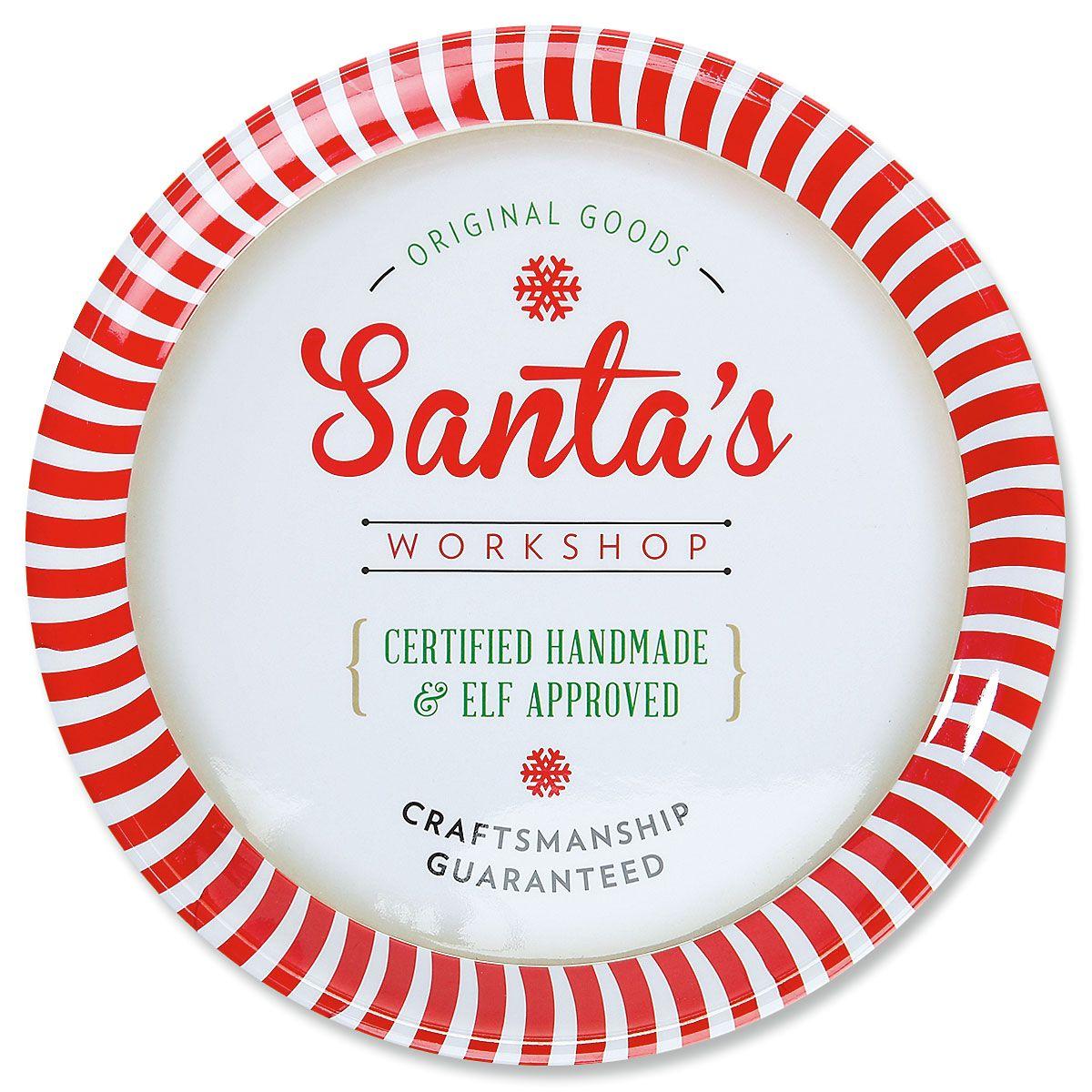 Santa Platter