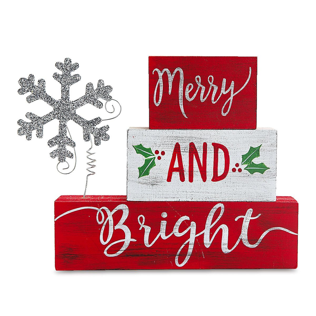 Merry and Bright Tabletop Decoration