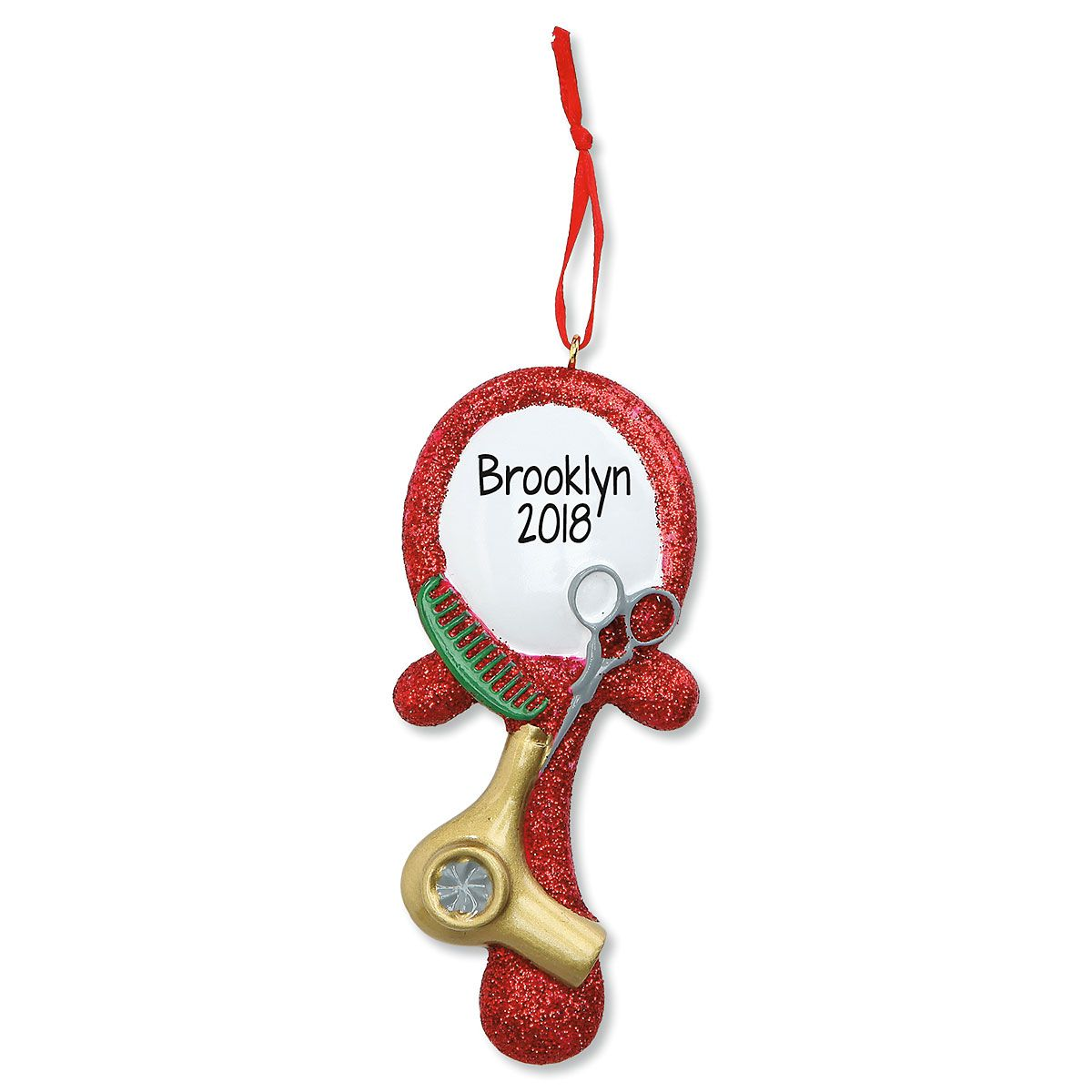 Hairdresser Personalized Christmas Ornament