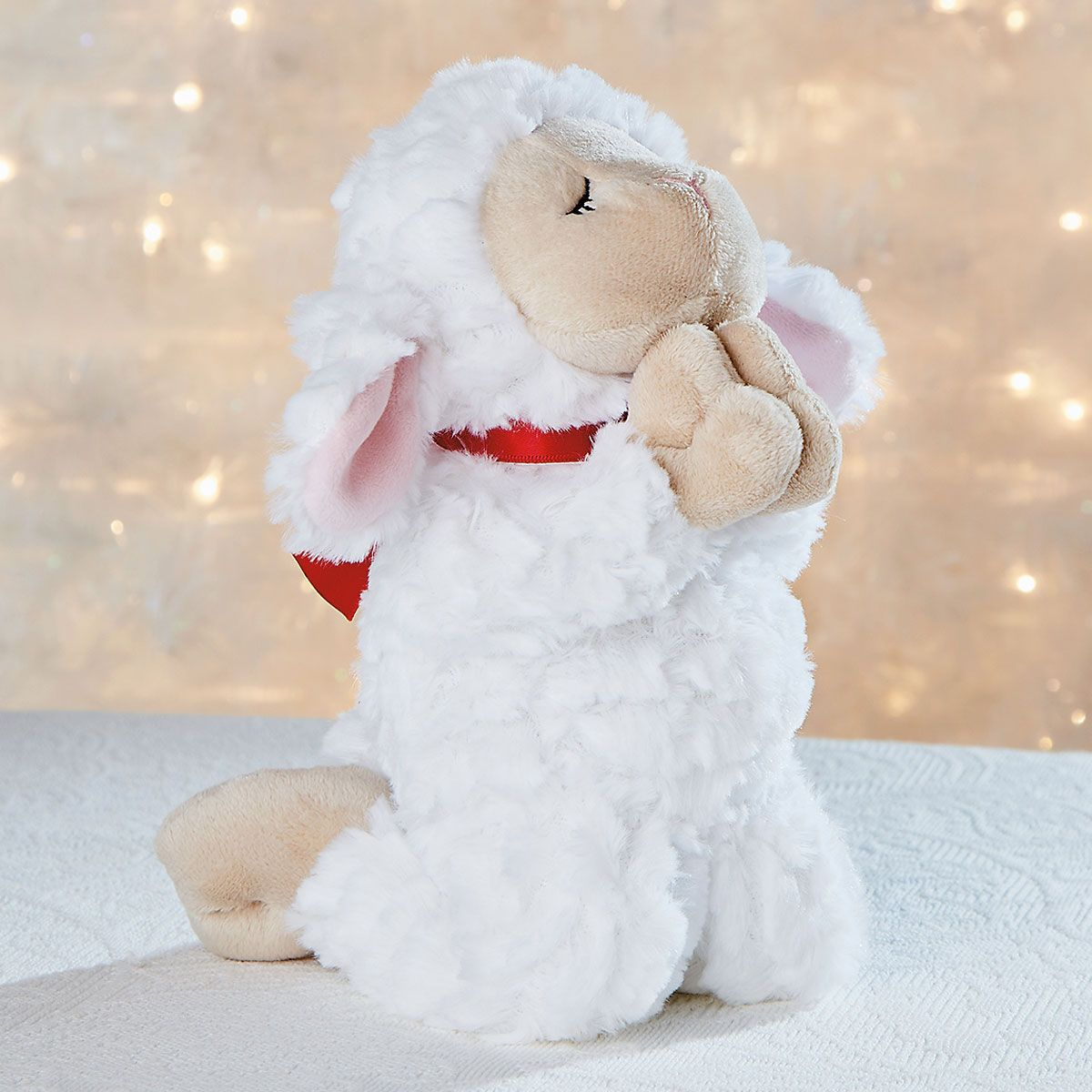 Holiday Praying Lamb
