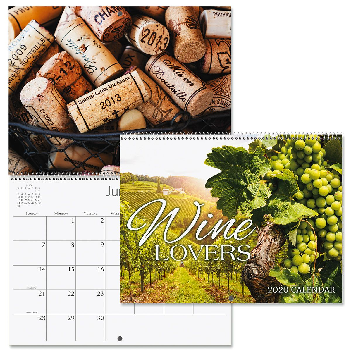 2020 Wine Lovers Wall Calendar