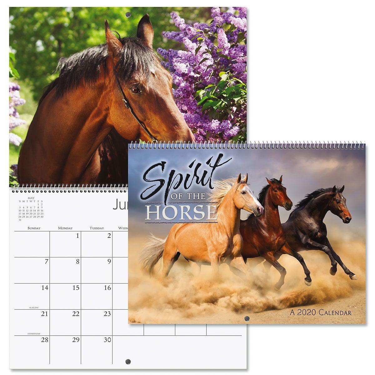 2020 Spirit of the Horse Wall Calendar