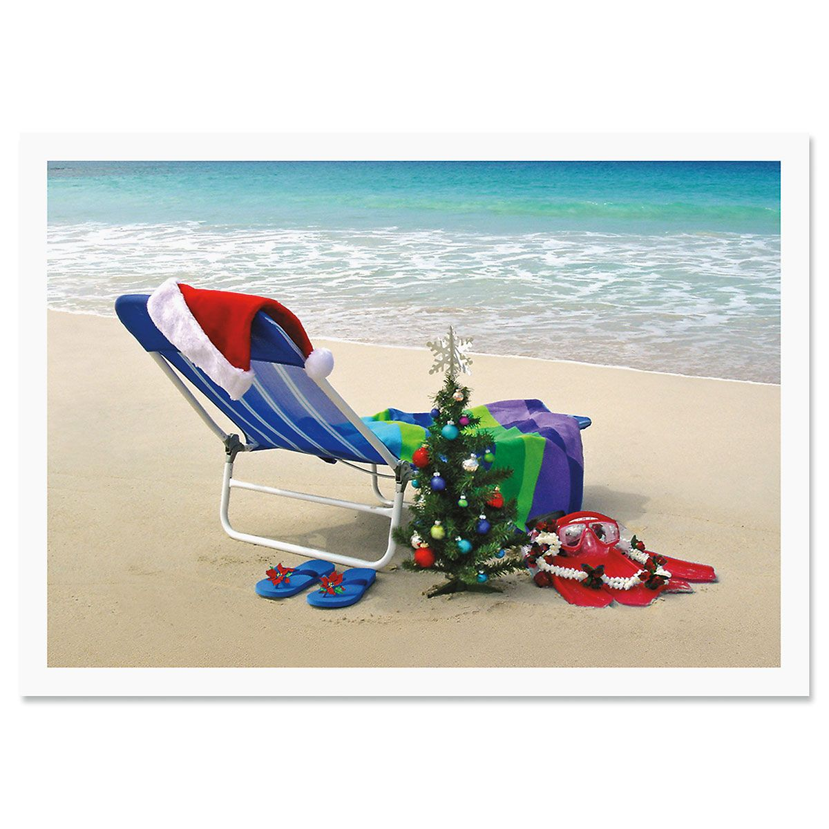 Hawaiian Holiday Christmas Cards