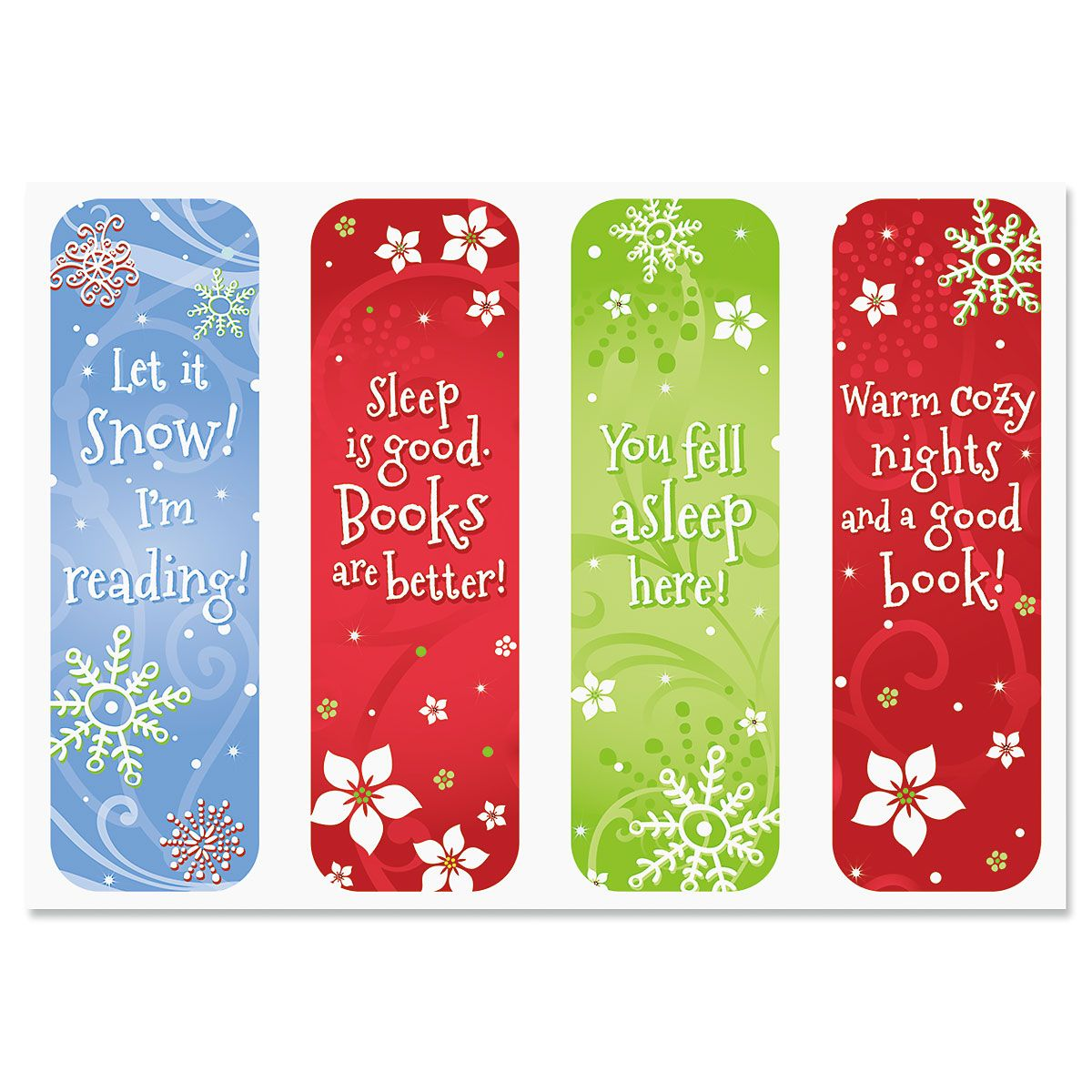 Winter Reading Bookmarks