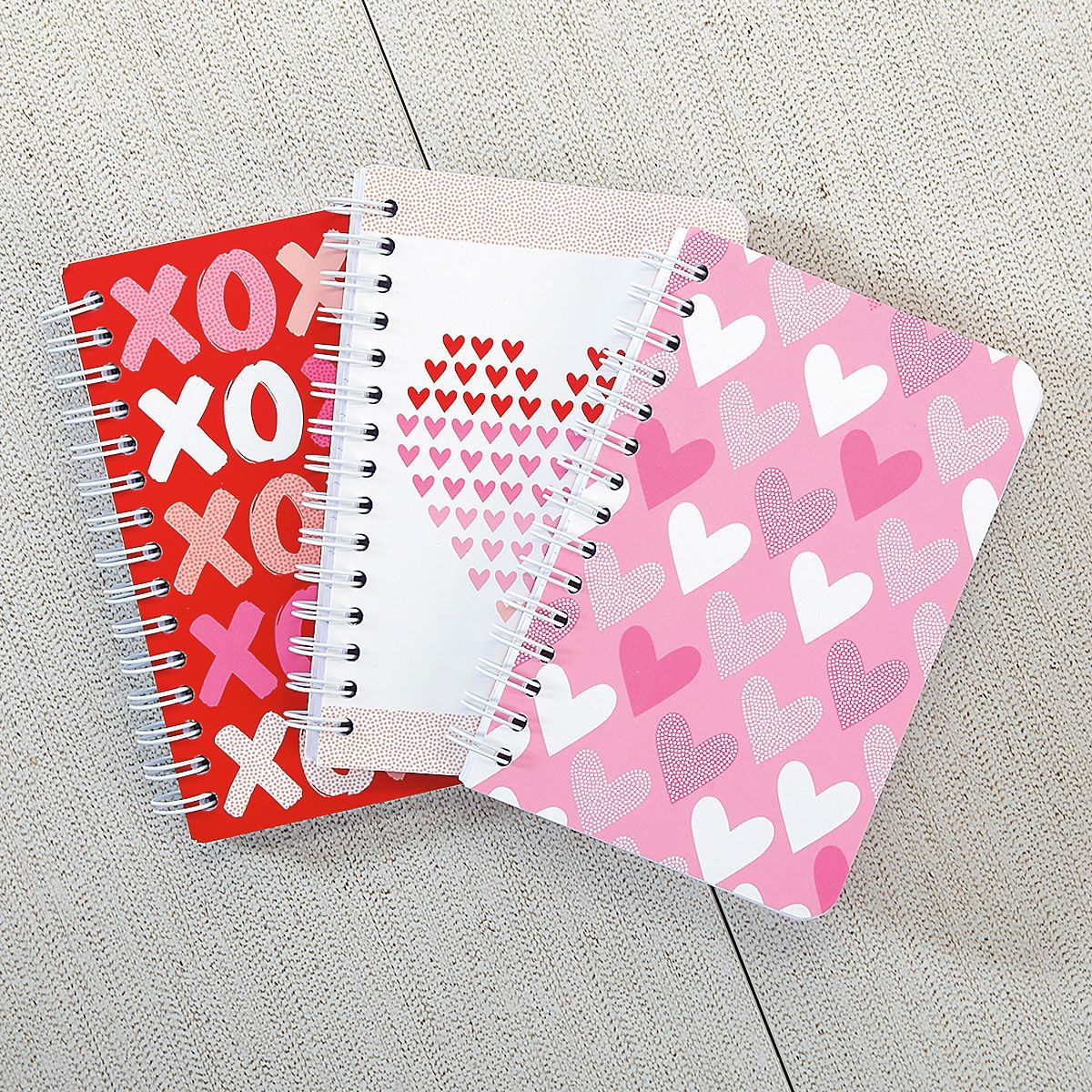 Mini Valentine's Notebooks - BOGO