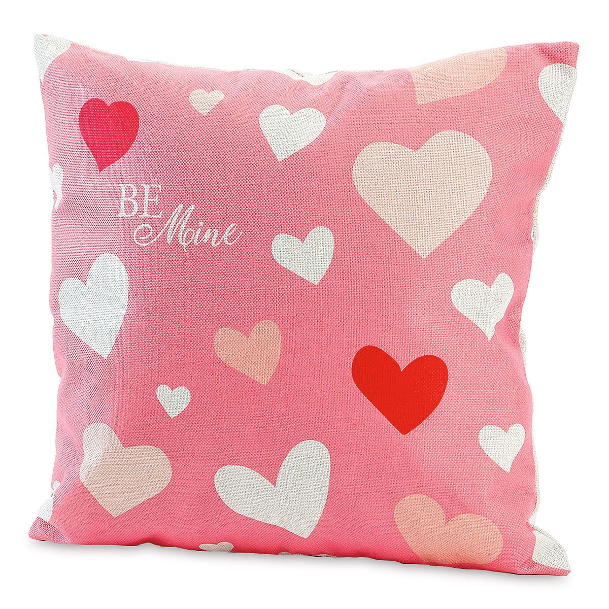 Hearts Valentine Pillow Cover