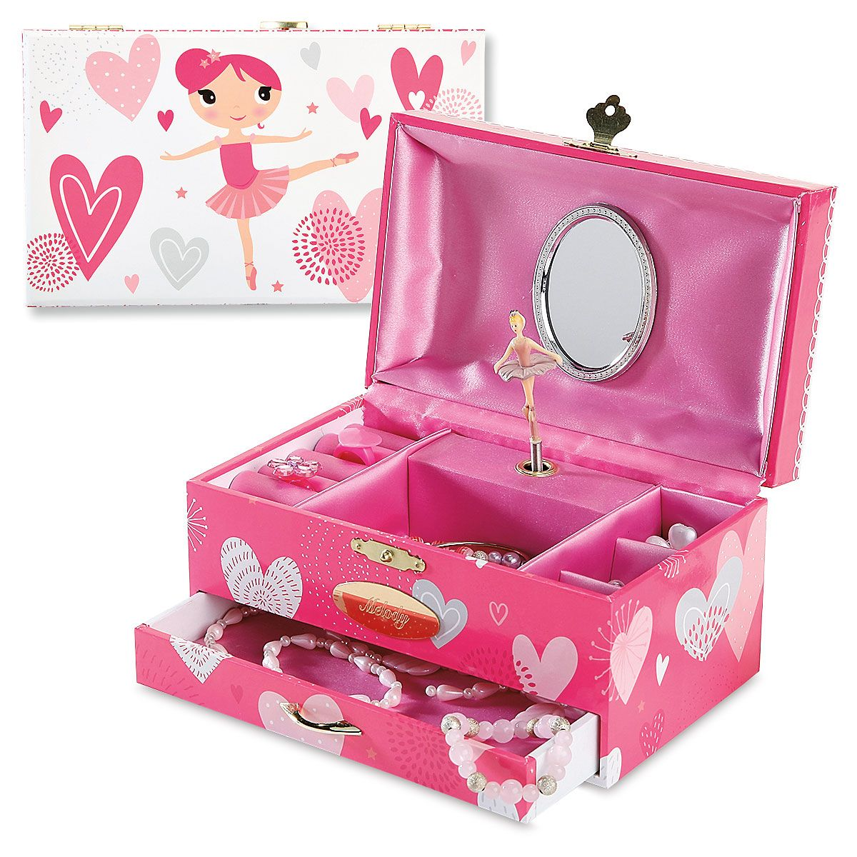 Personalized Ballerina Music Box
