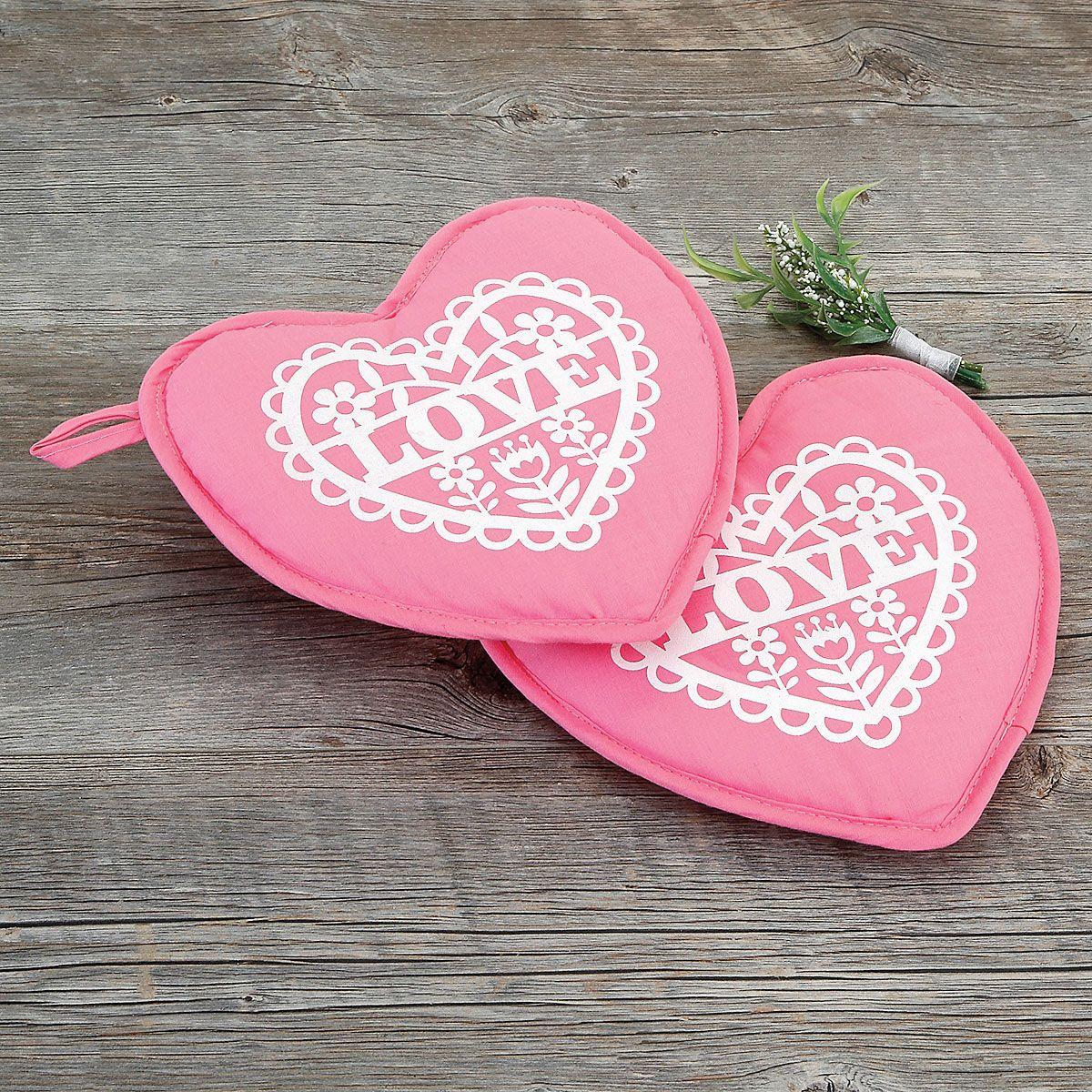 Heart Hot Pads