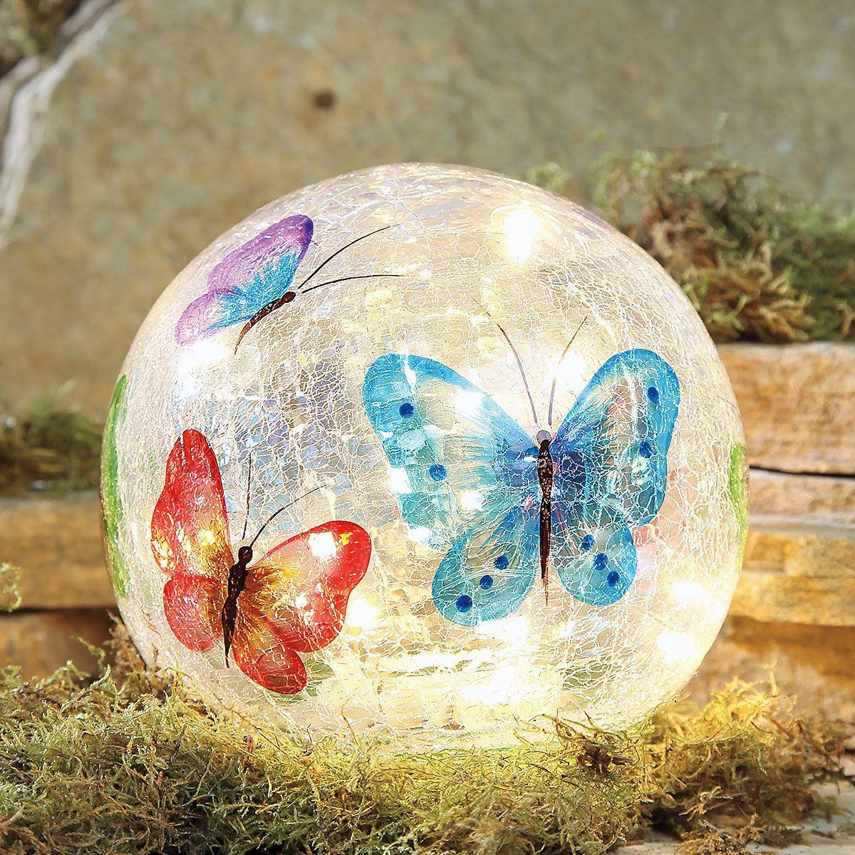 LED Butterfly Globe