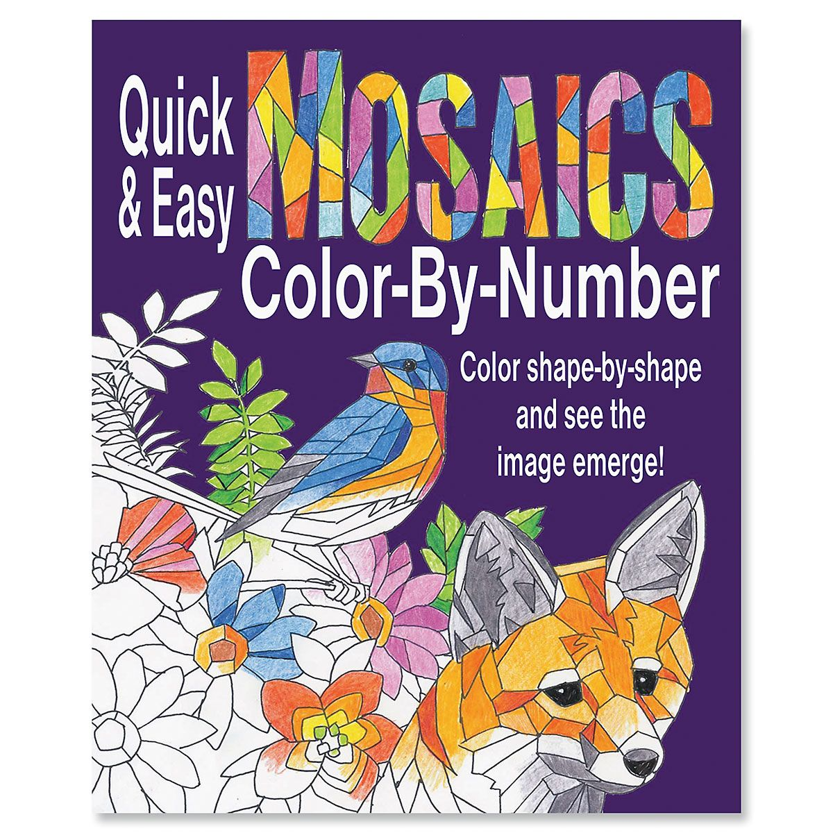 Mosaics Color-By-Number Book