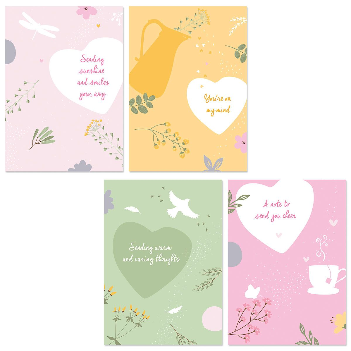 Sunshine and Smiles Thinking of You Cards and Seals