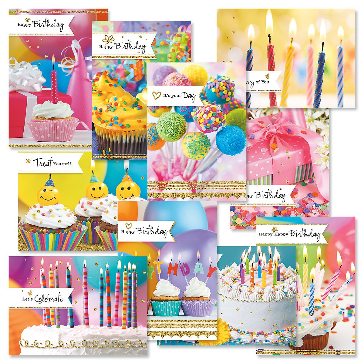 Photo Birthday Cards Value Pack