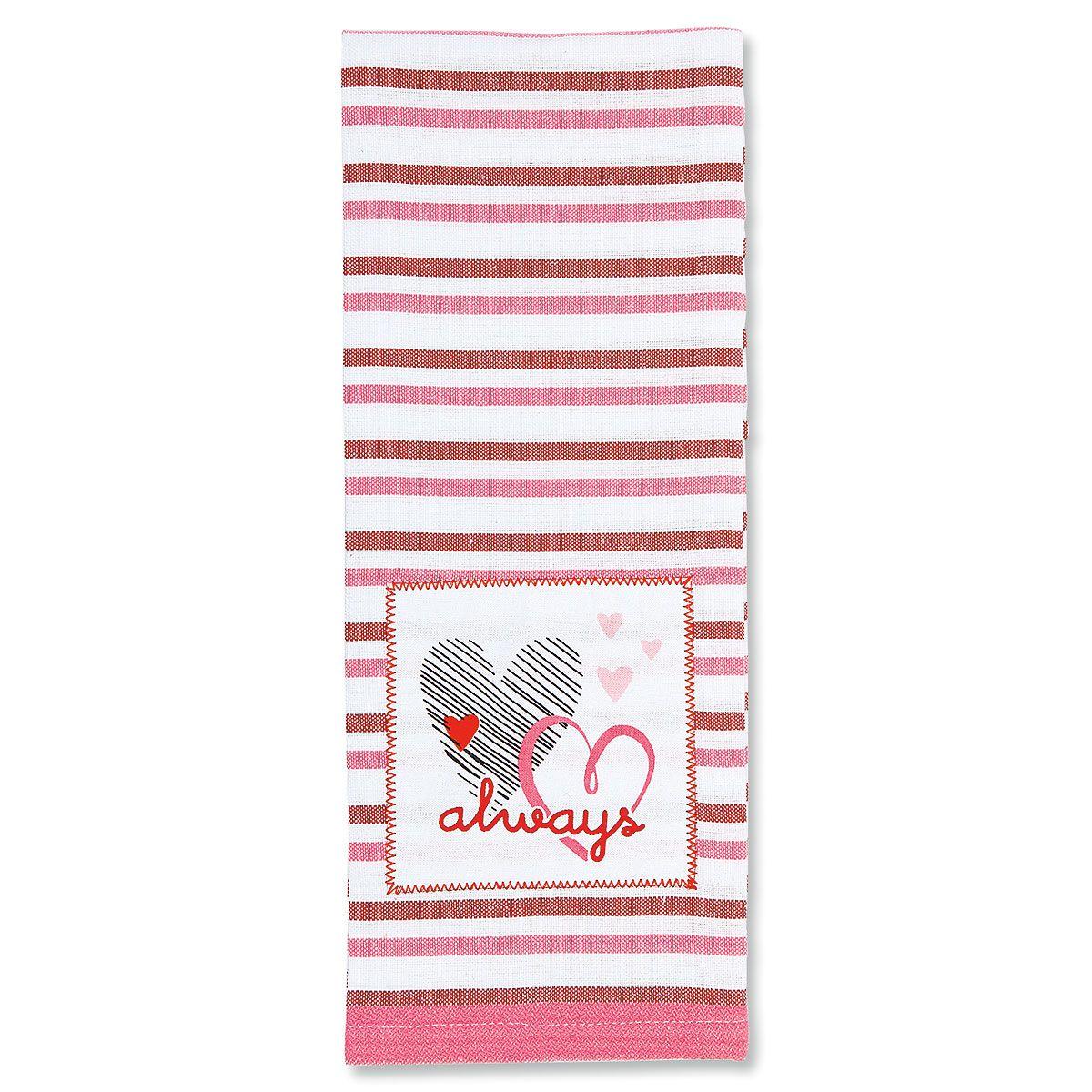 Always Valentine Kitchen Towel