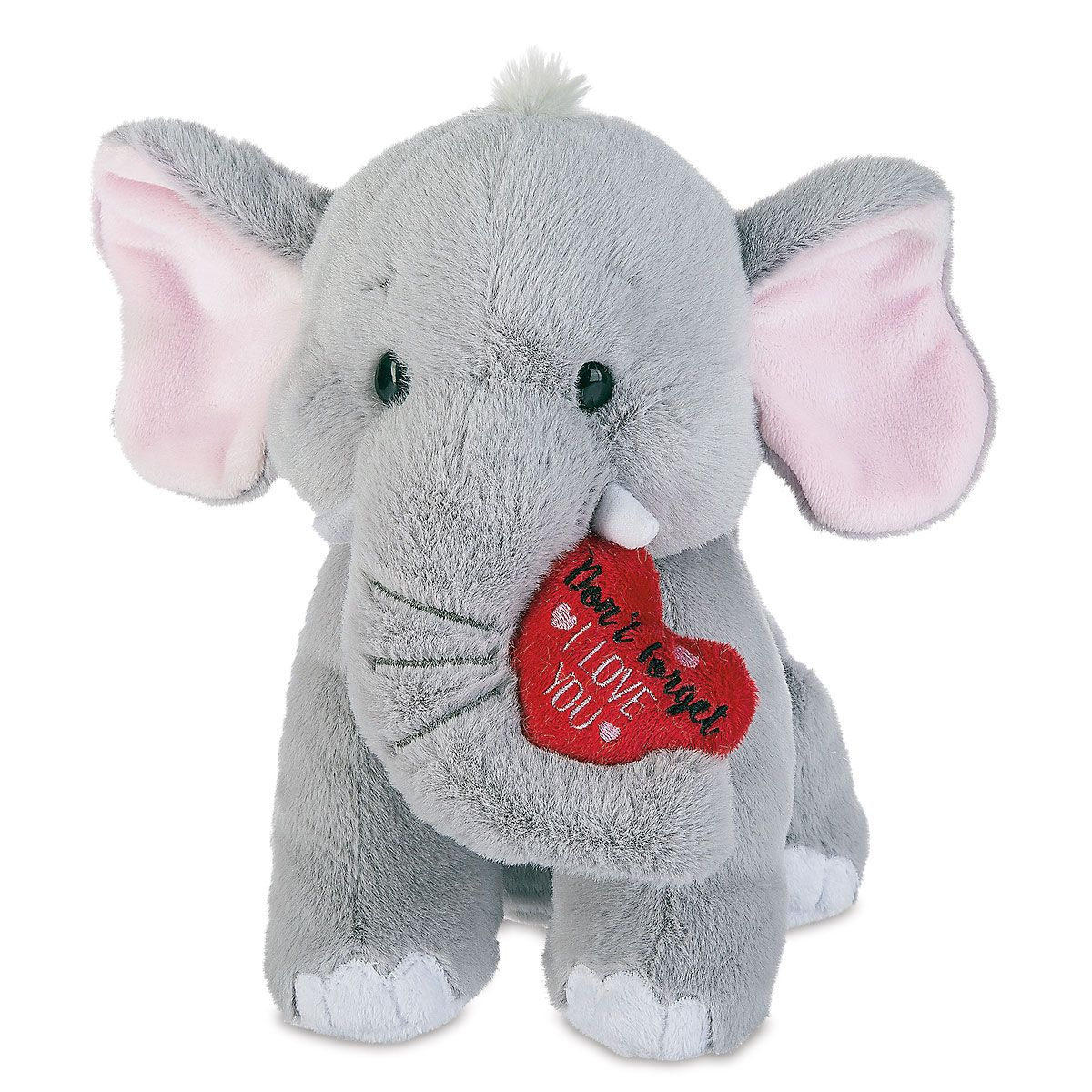 Plush Valentine Elephant