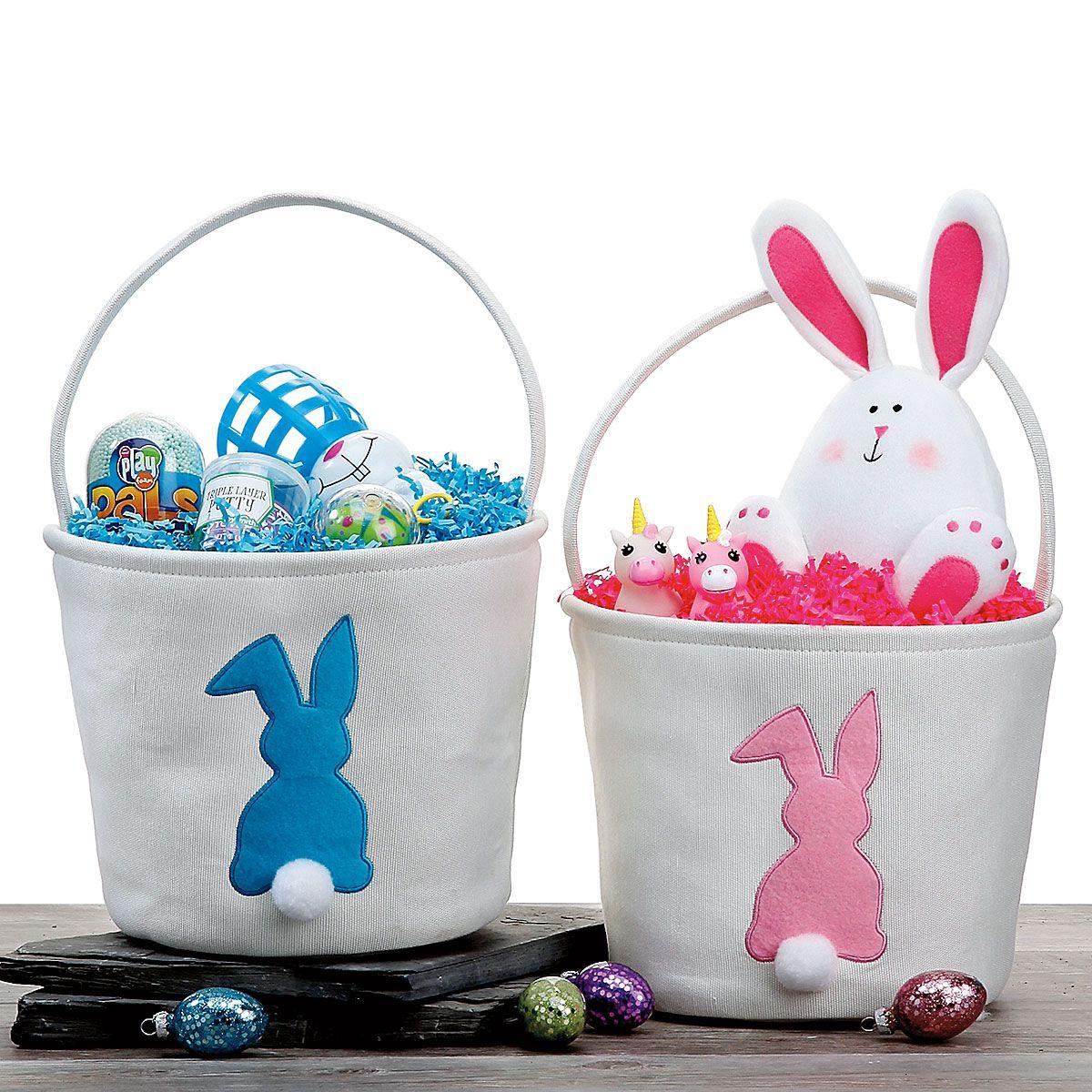 Fabric Bunny Baskets