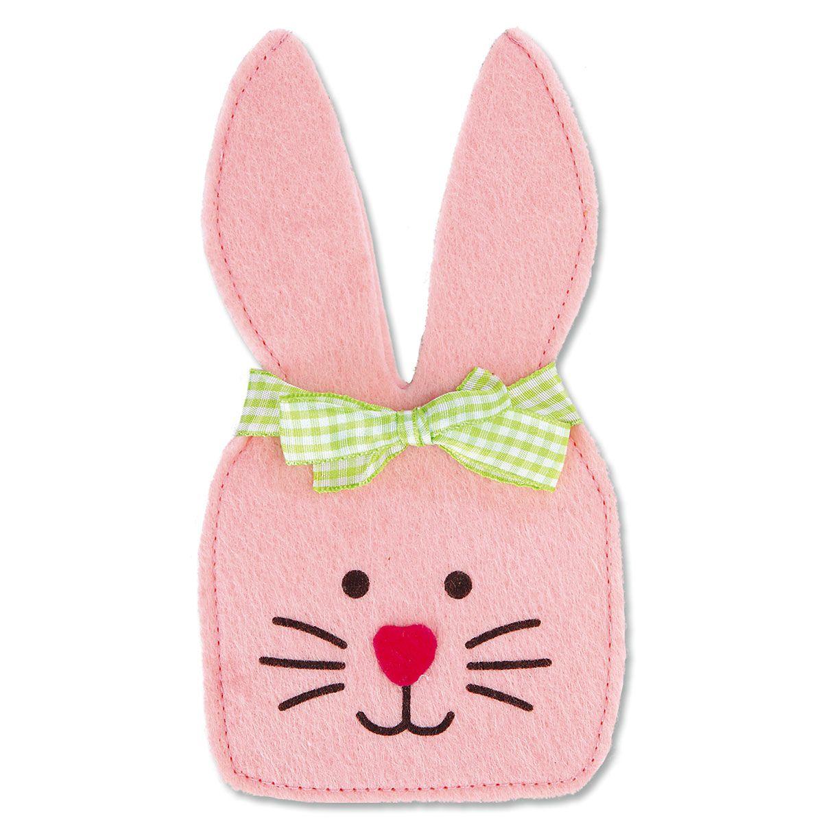 Felt Bunny Pouches