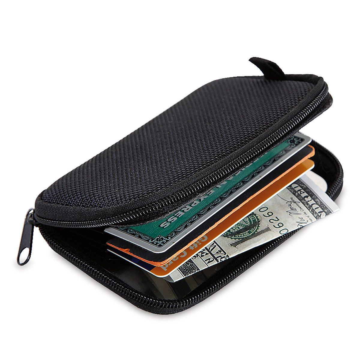 Zippered Security Wallet