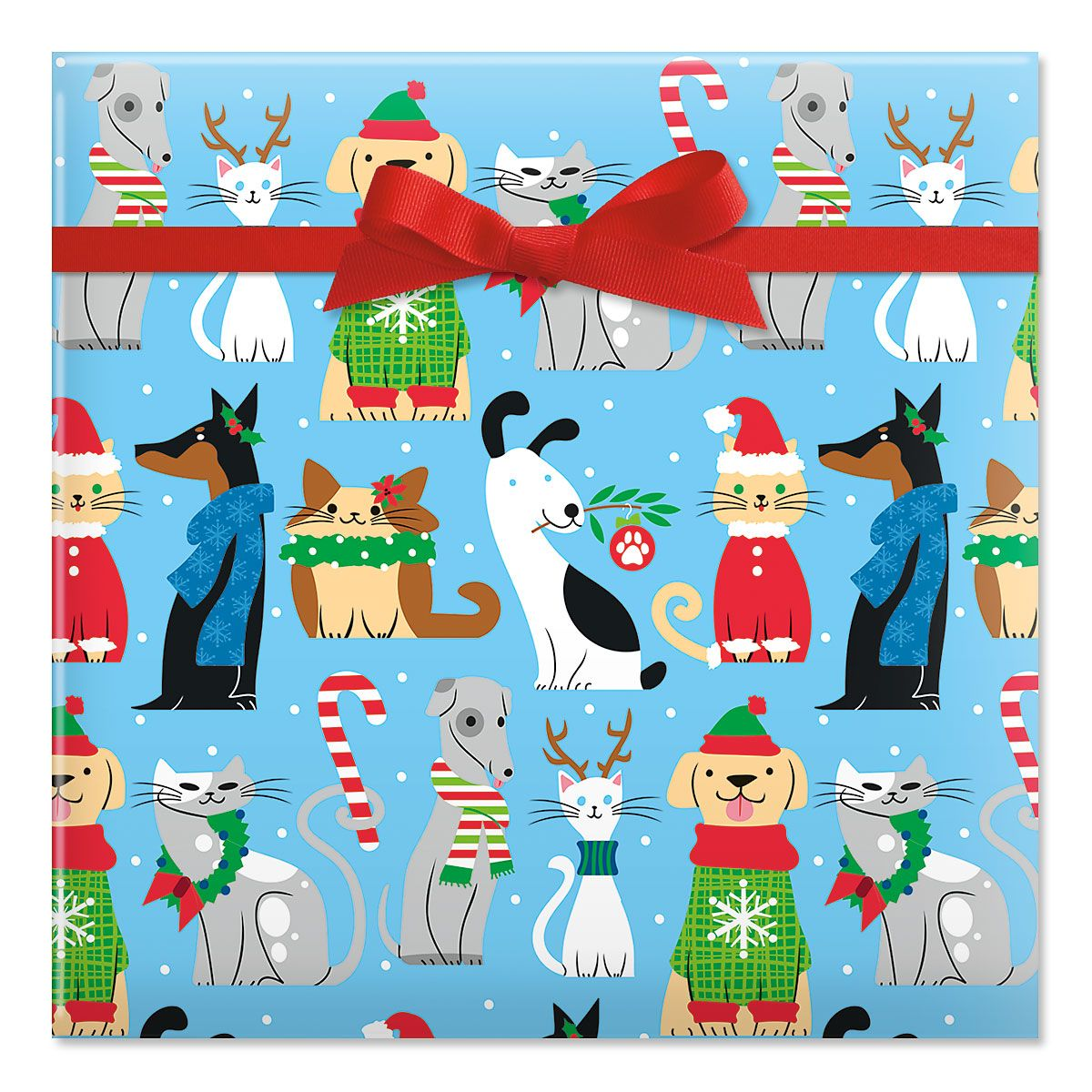 Fashion Pet Rolled Gift Wrap