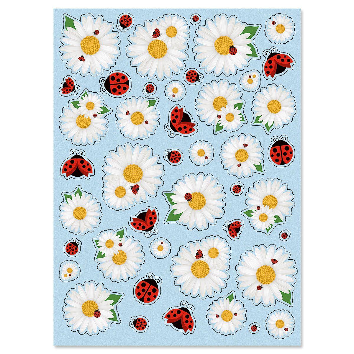 Daisy & Ladybug Stickers