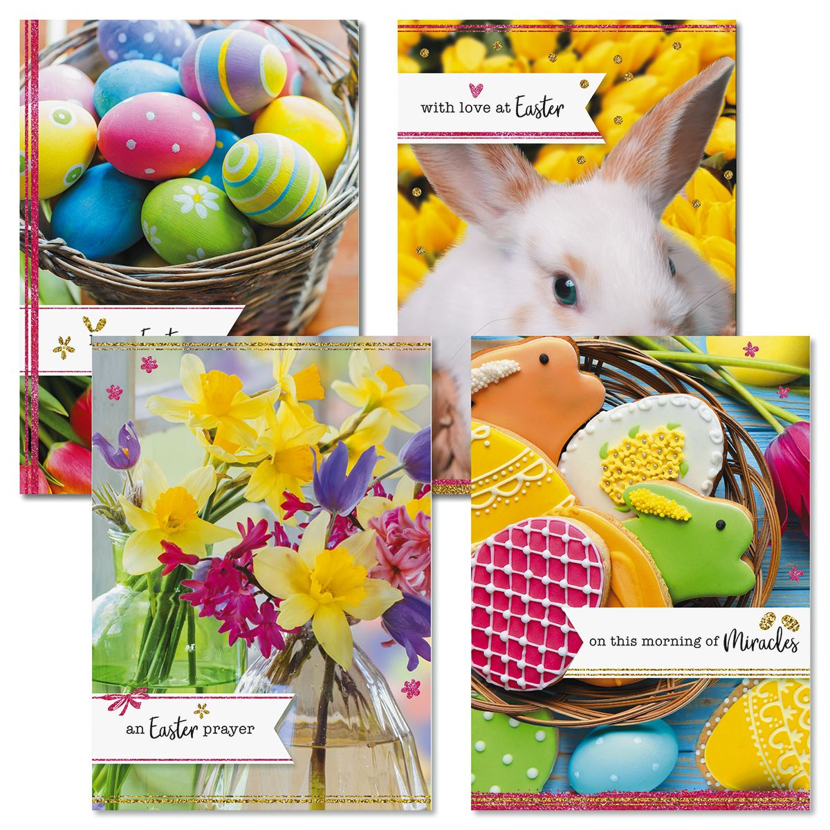 Easter Wishes Faith Cards