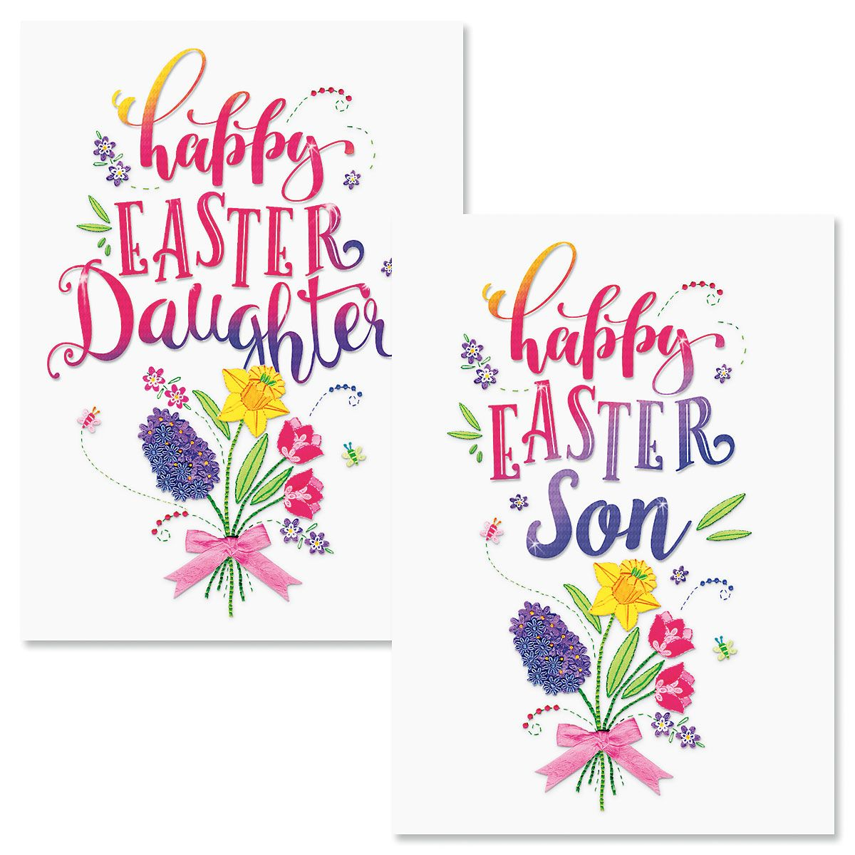 Son or Daughter Easter Card