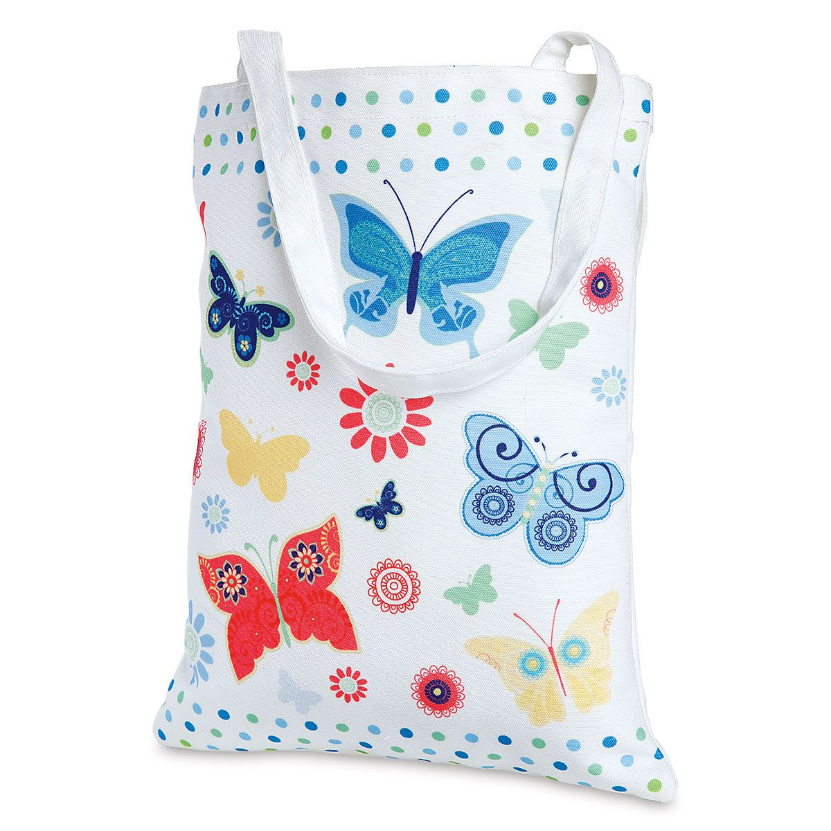 Butterflies Canvas Tote