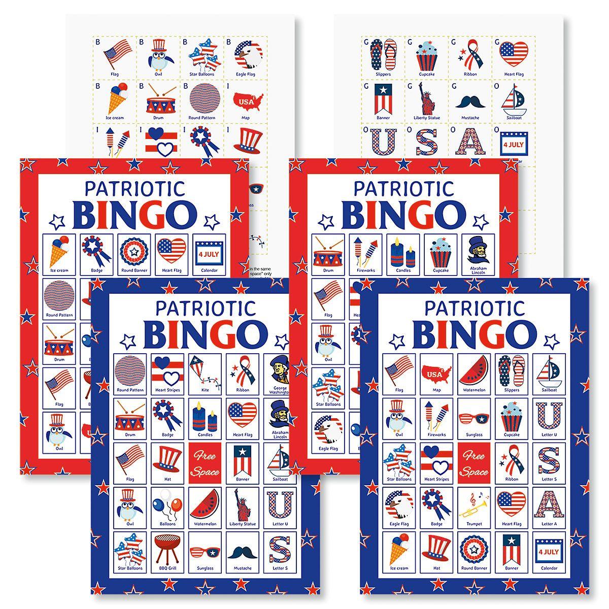 Patriotic Bingo