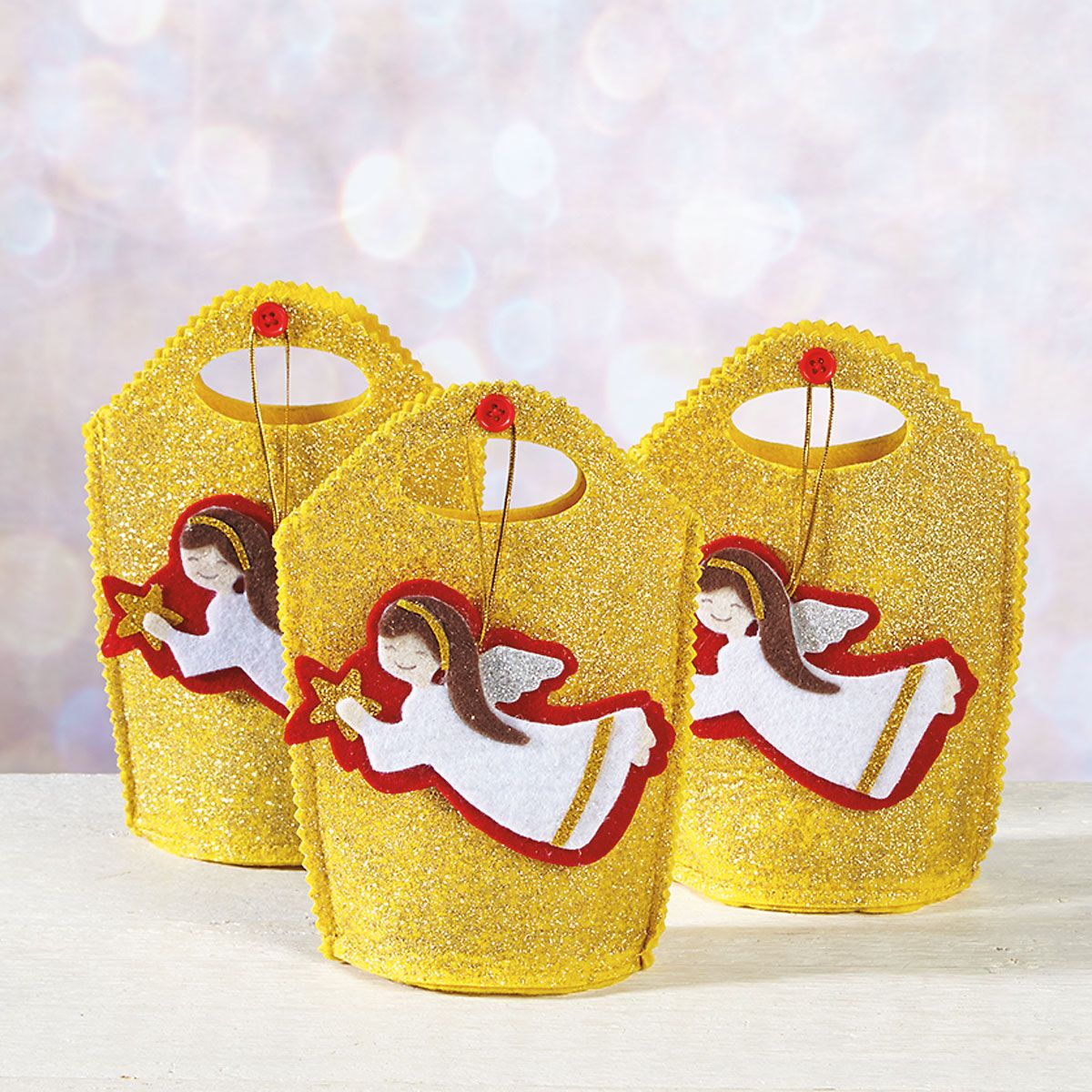 Angel Song Glitter Treat Bags