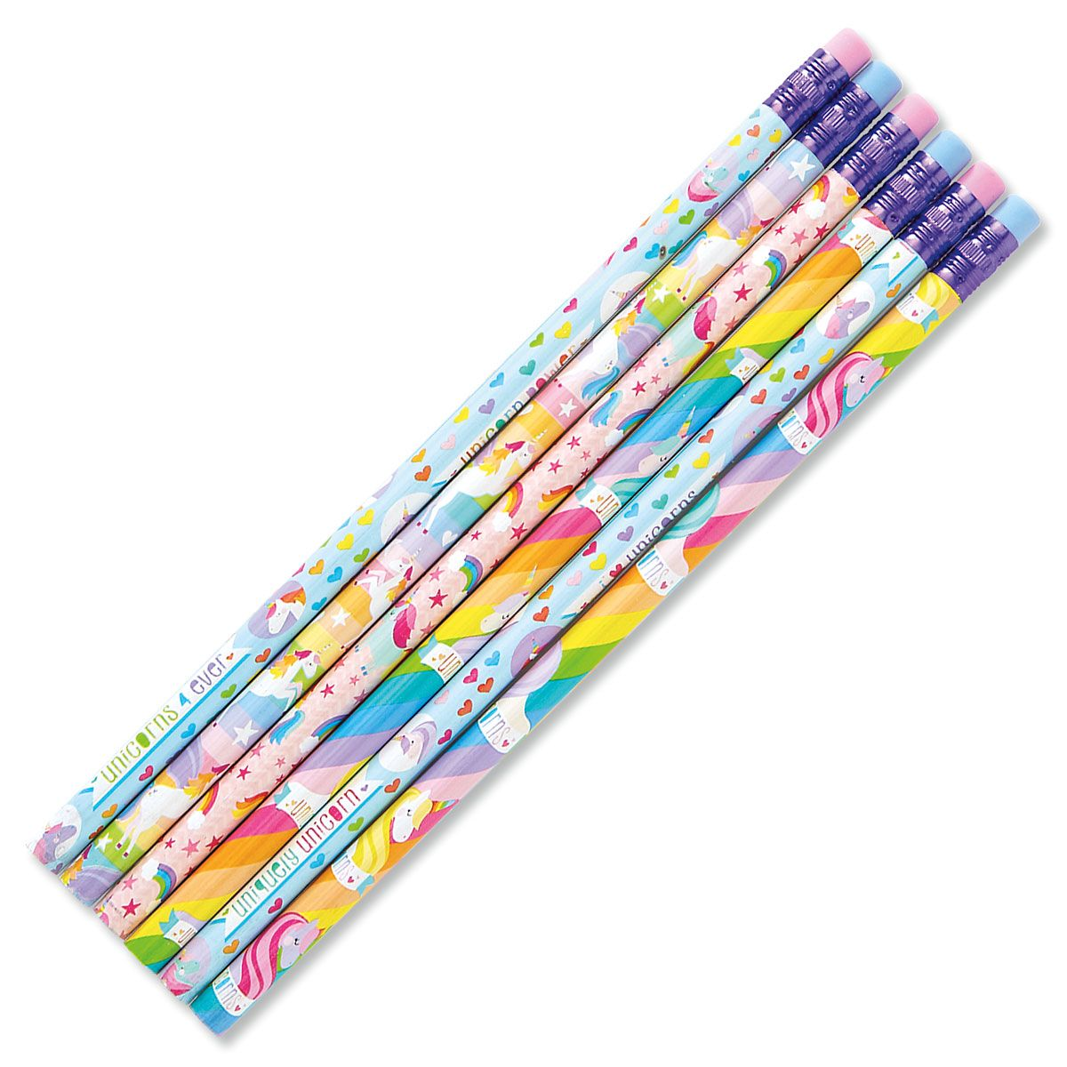 #2 Unicorn Hardwood Pencils