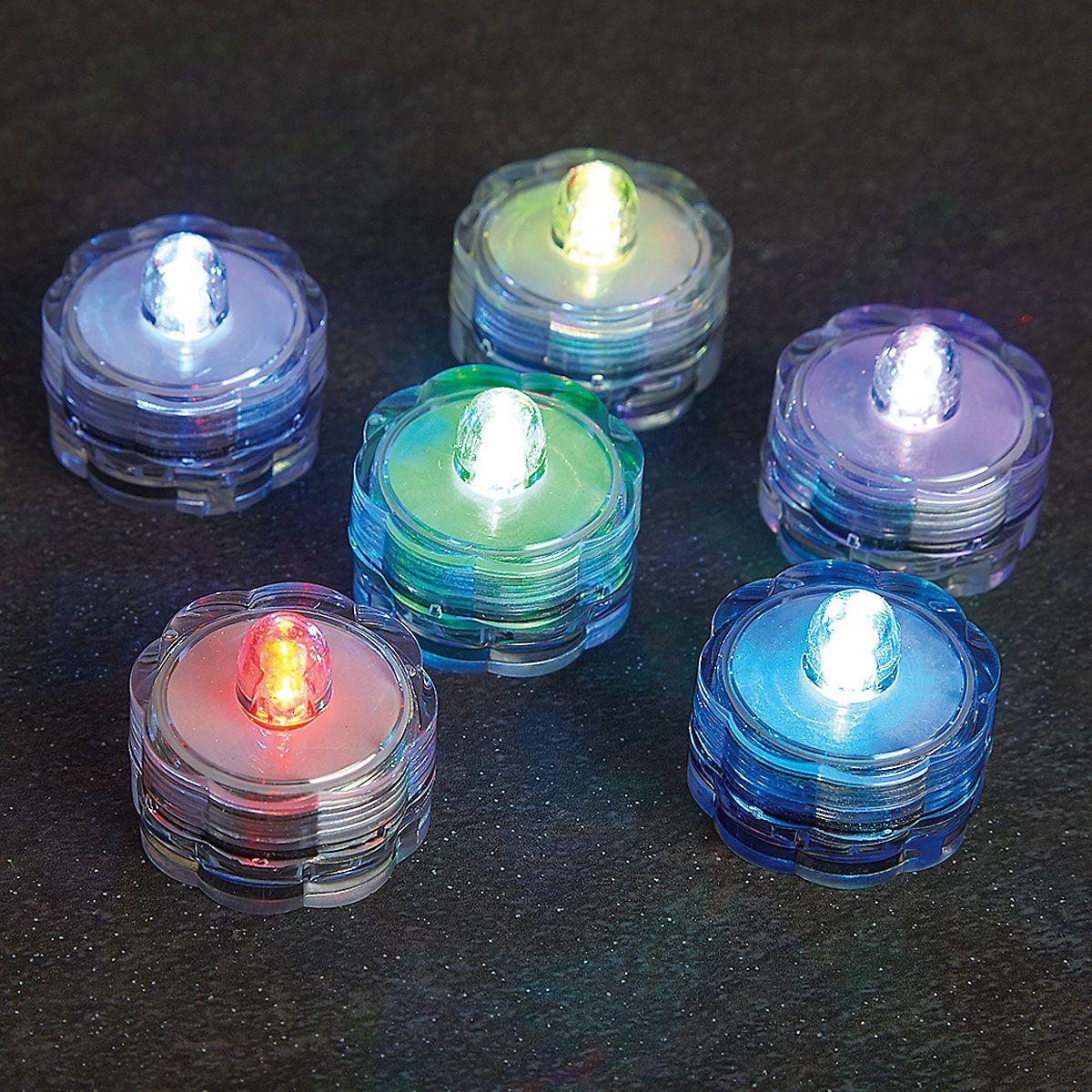 LED Waterproof Tea Lights