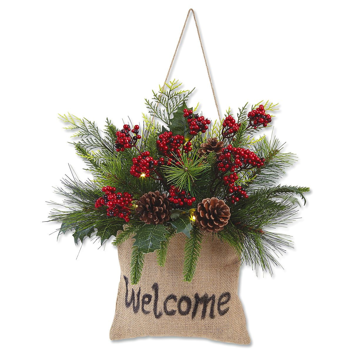 Welcome Christmas Greenery