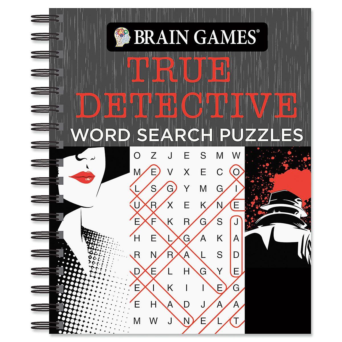 True Detective Word Search Brain Games®