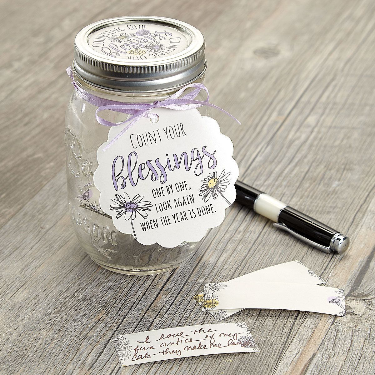 Daisy Blessing Jar Kit