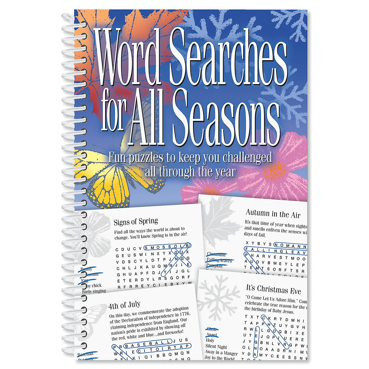 All Seasons Word Search Book