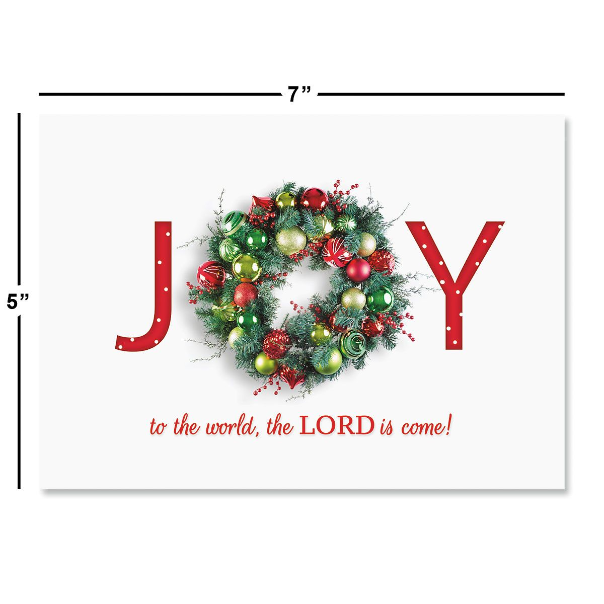 Great Joy Religious Christmas Cards