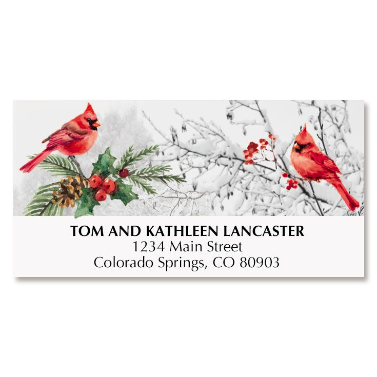 Cardinal Stream Deluxe Address Labels