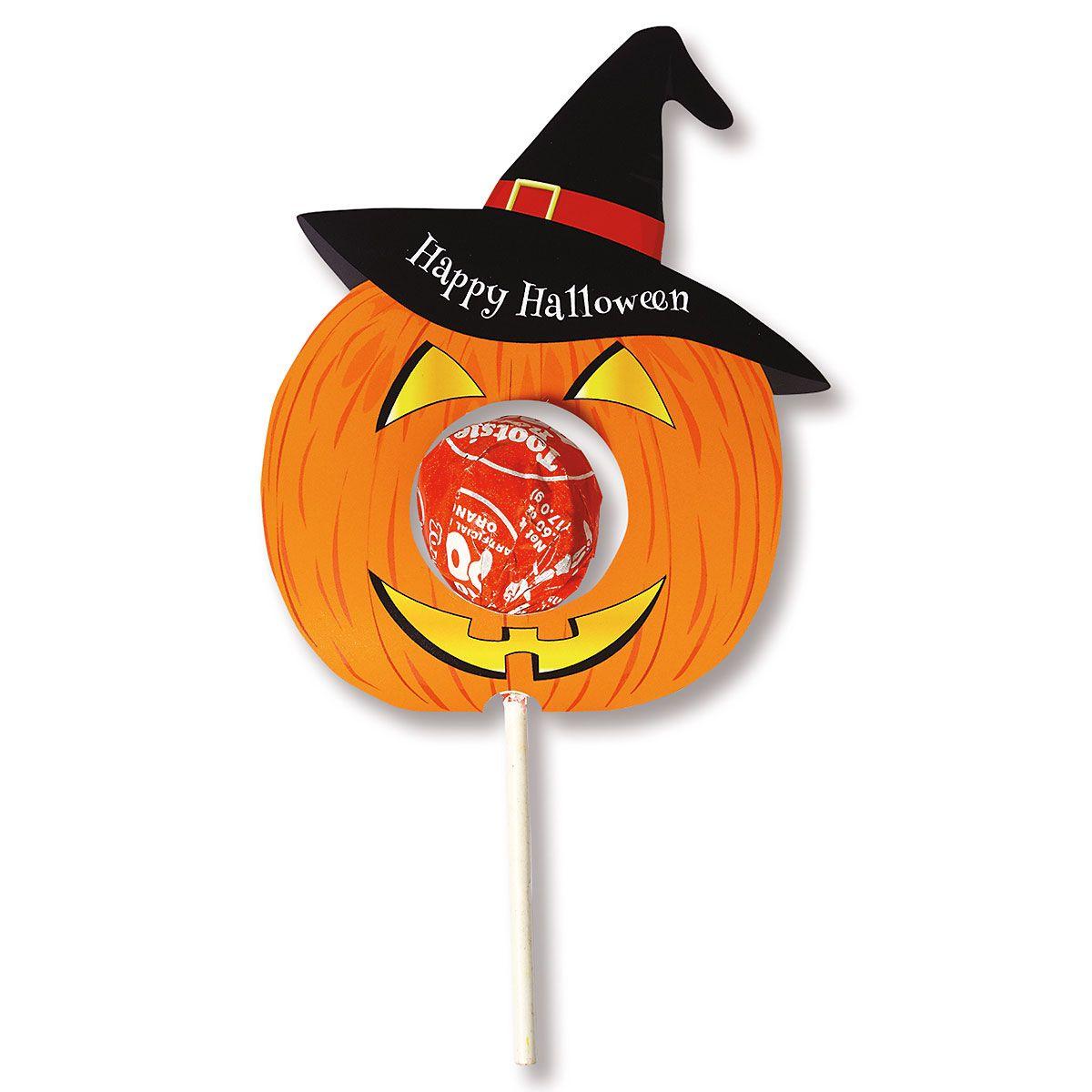 Jack-o'-Lantern Lollipop Holders - BOGO