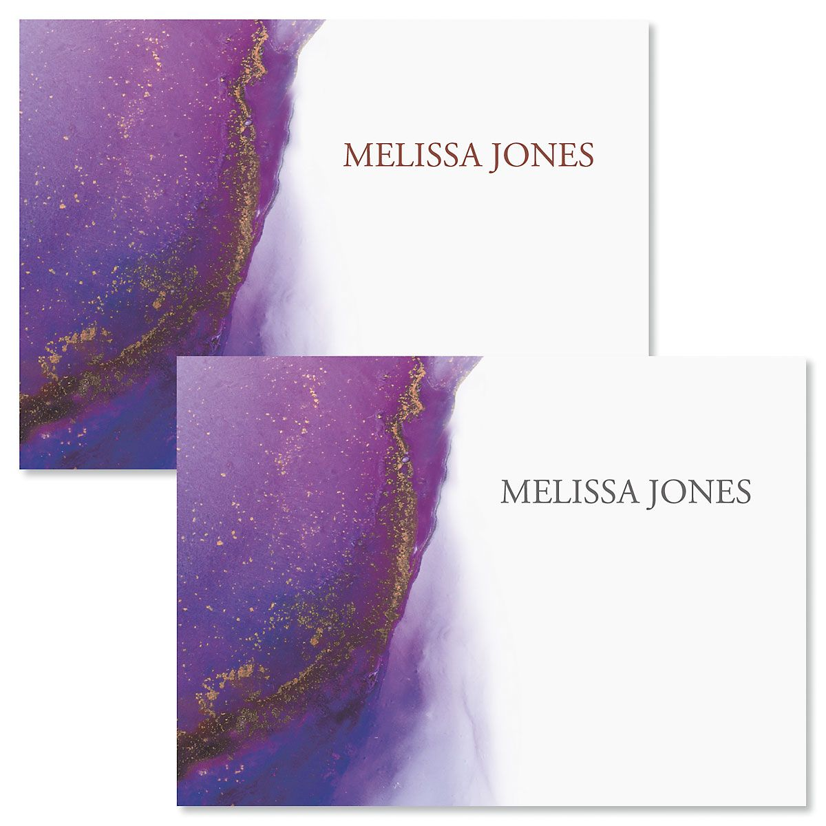 Agate Personalized Note Cards