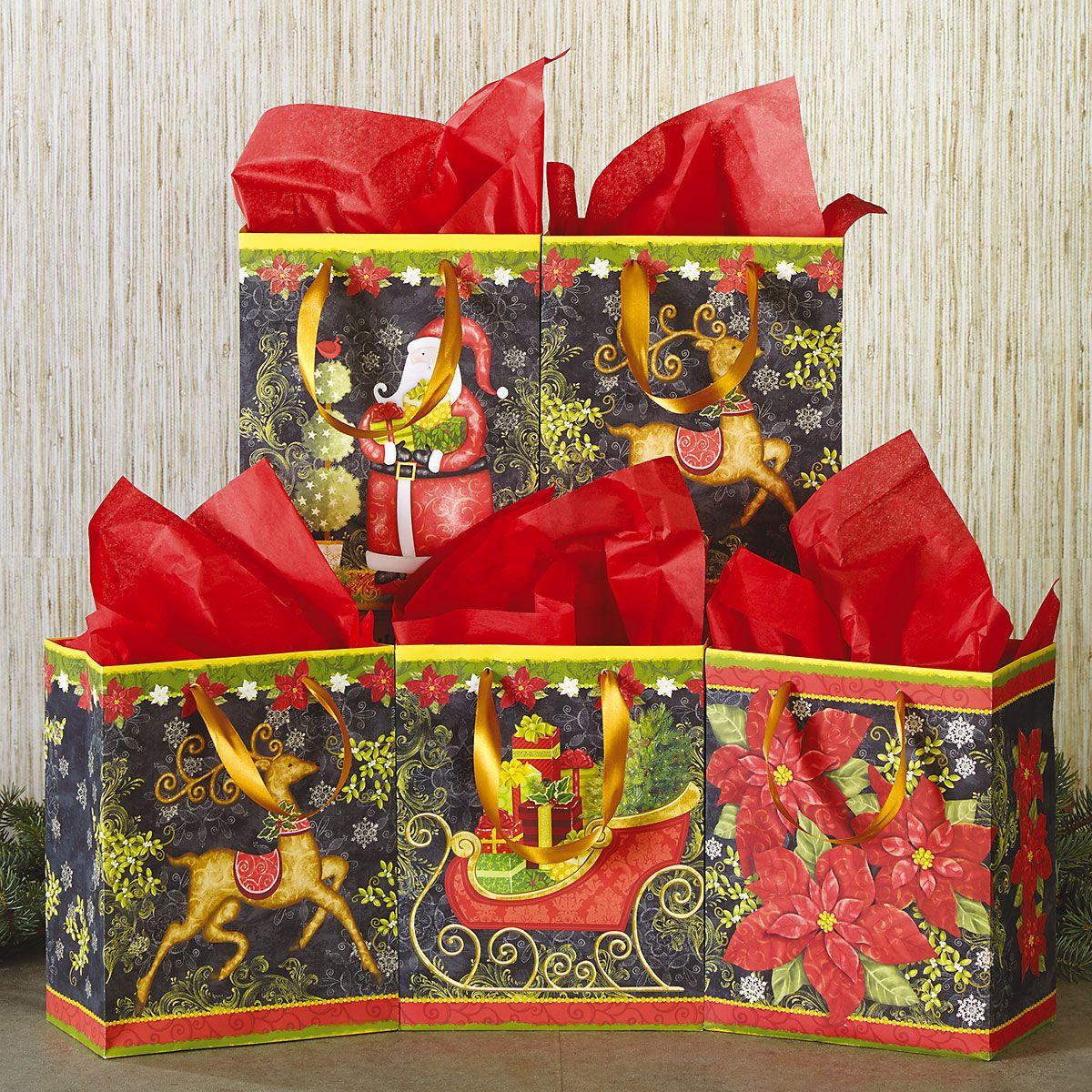 Christmas Cheer Gift Bags