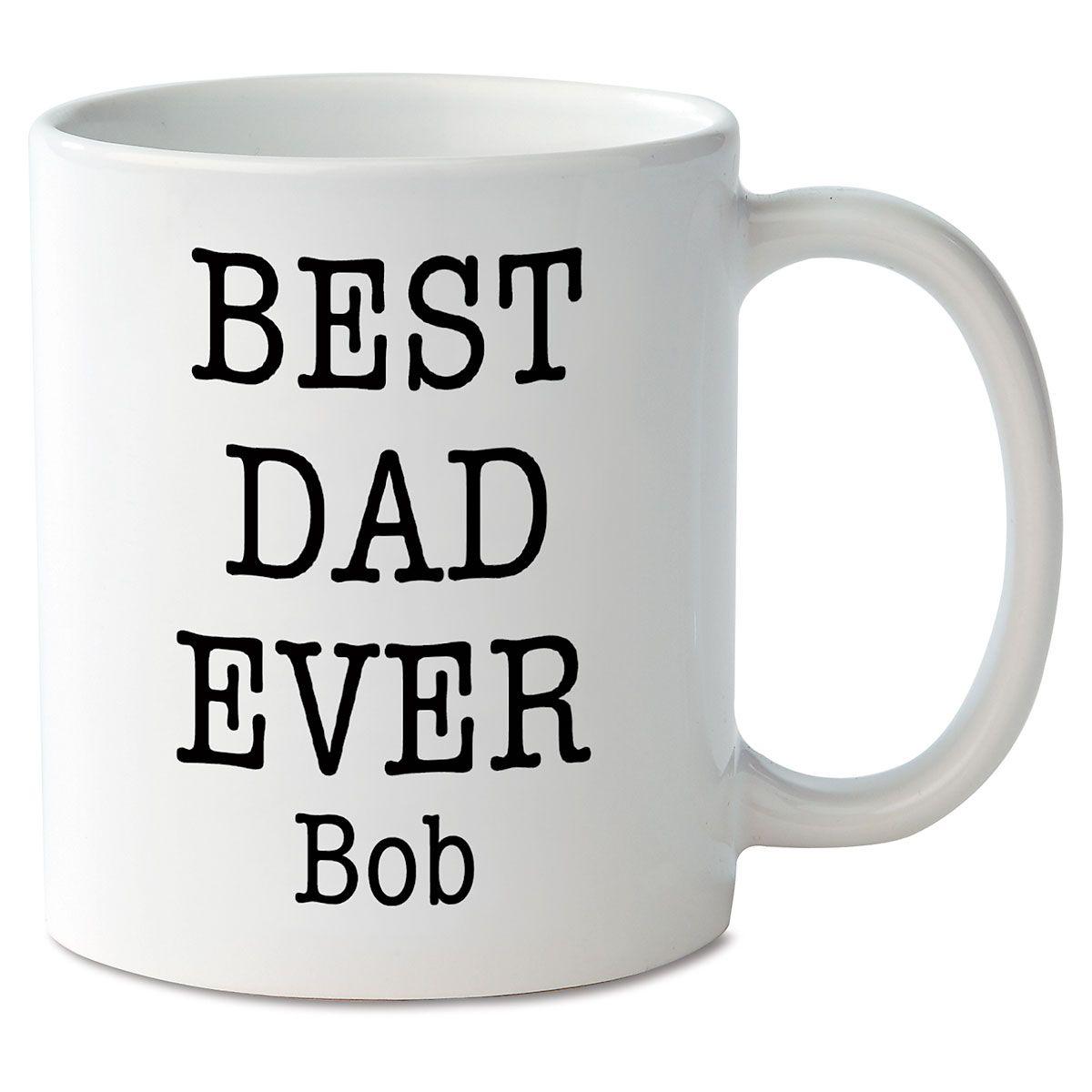 Best Dad Ever Personalized Mug