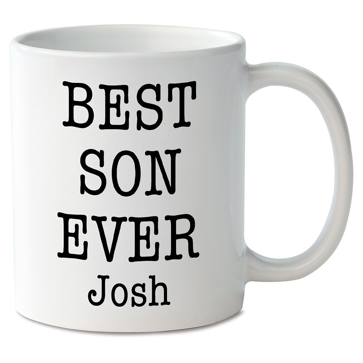 Best Son Ever Personalized Mug