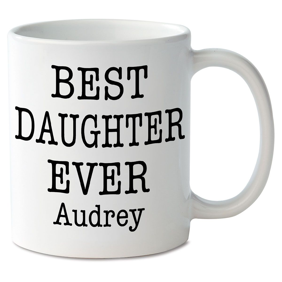 Best Daughter Ever Personalized Mug
