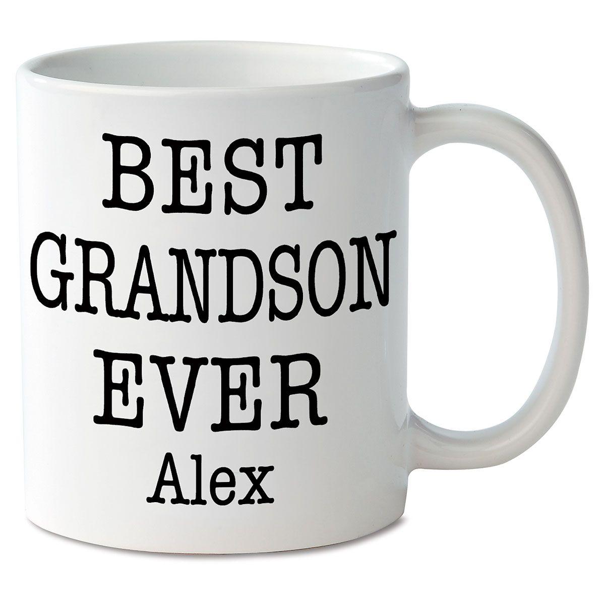 Best Grandson Ever Personalized Mug