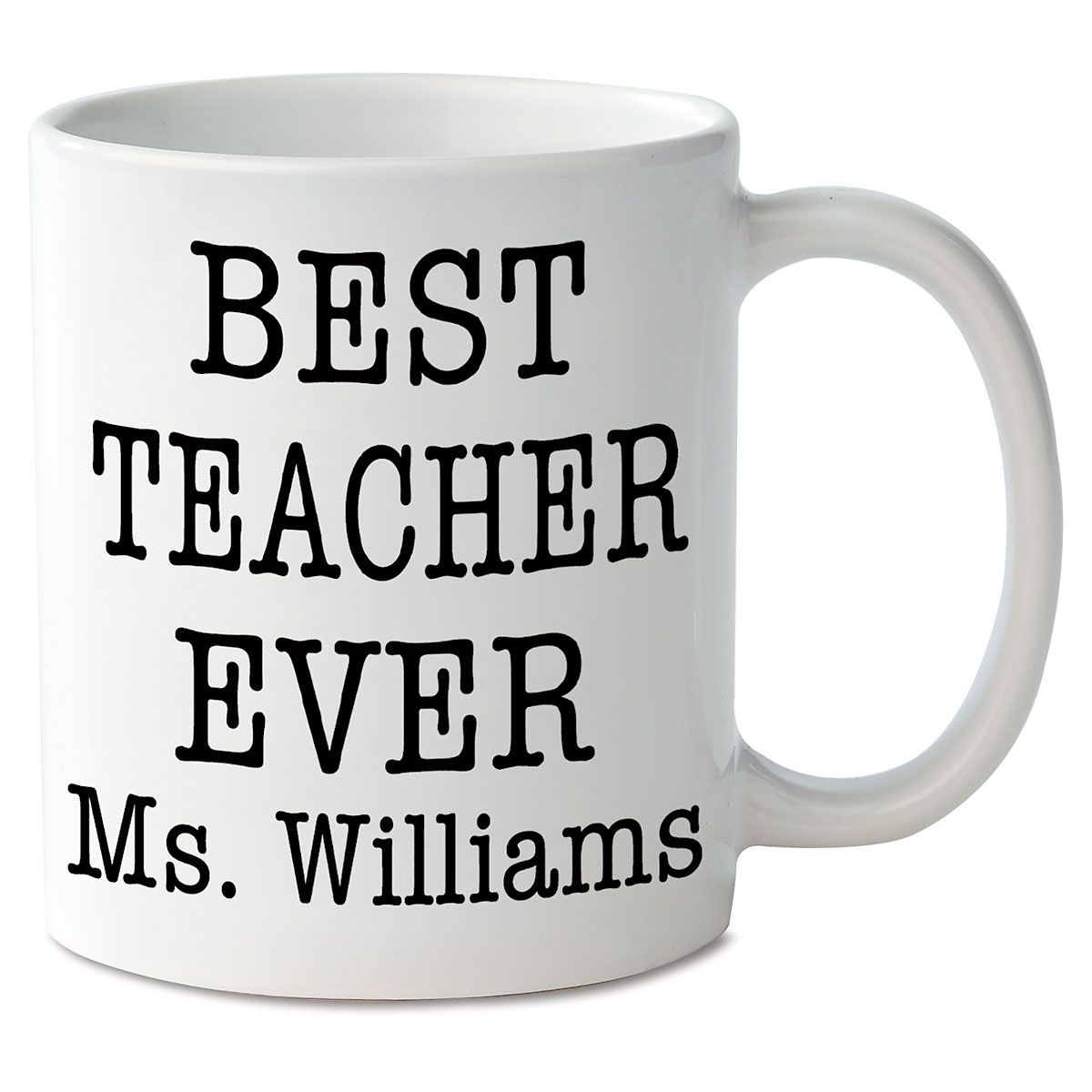 Best Teacher Ever Personalized Mug